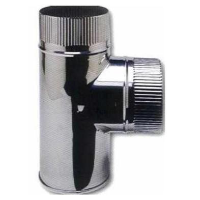Te 90º 0.8 mm sin tapón Ø180