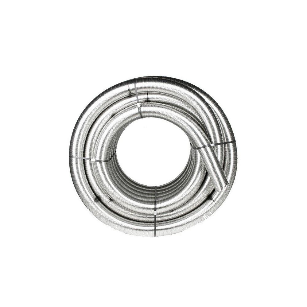 Tubo flexible inoxidable humos diametro 180 chimeneas roca - Tubo de acero inoxidable para chimeneas ...