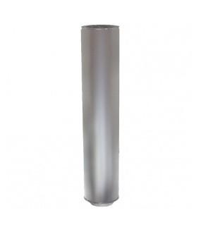 TRAMO RECTO 250 diam.80mm INOX. AISI 304 DOBLE PARED